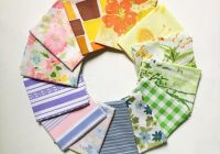 fat quarters bundle vintage sheet fat quarter fabric bundle precut fabric quilting fabric bundles precut quilt kit vintage sheet supply Elegant Fabric Bundles For Quilting Gallery