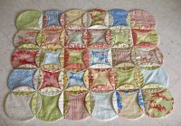 faux cathedral window quilt from my blog 64000thingstodot Mock Cathedral Window Quilt Pattern Inspirations
