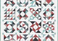 feed company half square triangle quilt hummingbird thread Cozy Half Triangle Quilt Blocks