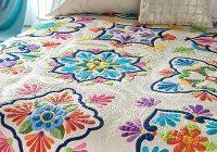 fiesta de talavera inspired applique quilt pattern Cool Applique Quilts Patterns Gallery