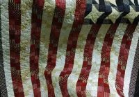 flag quilt interesting pattern for charity quilt Cozy American Flag Quilt Pattern