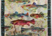 flaura fiberworks pattern laura heine making fish Interesting Stylish Ebay Quilting Fabric Inspiration