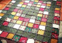fleece rag quilt no sew pictures of fleece rag quilts Unique No Sew Quilt Patterns Gallery