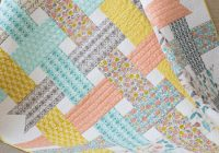 folksy daisy ribbon box ba girl quilt quilting cub Stylish Baby Girl Quilt Patterns Gallery