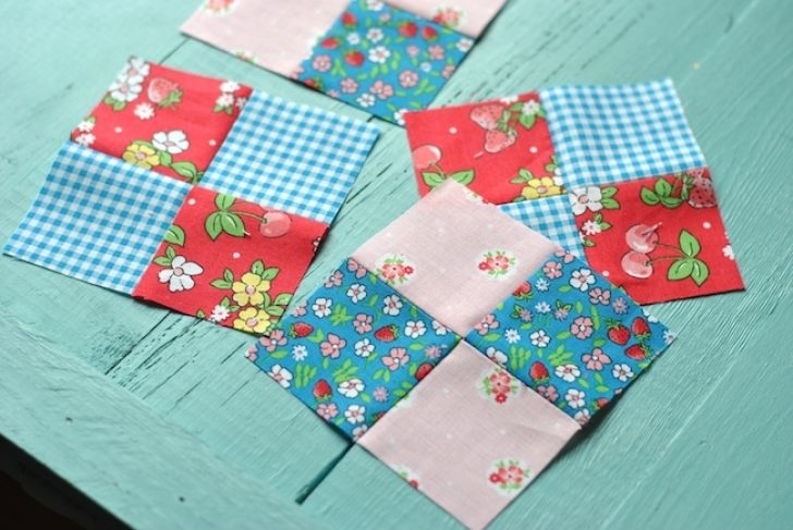 Permalink to Cool 4 Patch Quilt Block Patterns