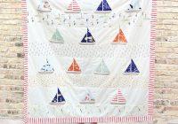 free ahoy sailor quilt pattern suzy quilts Quilt Pattern Sailboats Inspirations