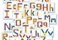 free alphabet pattern block printables confessions of a Elegant Alphabet Quilt Block Pattern