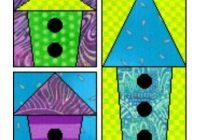 free bird house quilt patterns craftybirds Elegant Birdhouse Quilt Patterns Gallery