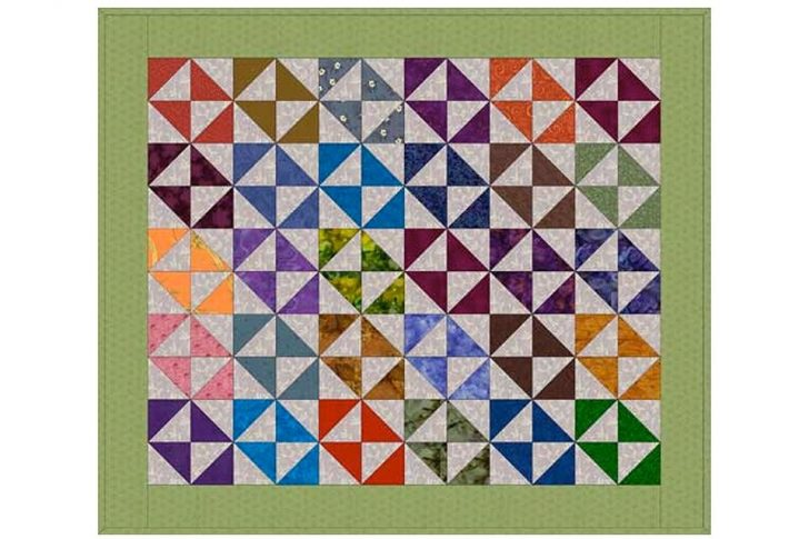 Permalink to Modern Broken Dishes Quilt Pattern