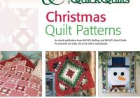 free christmas quilt patterns from mccalls quilting Interesting Mccalls Quilting Patterns Free