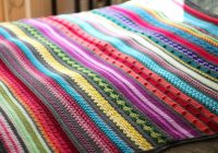 free crochet pattern rainbow sampler blanket haakmaarra Unique Crochet Quilt Patterns Beginners
