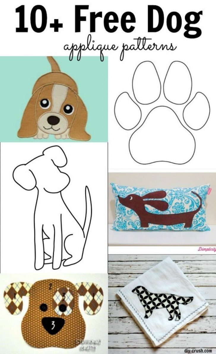 Permalink to Interesting Dog Applique Quilt Patterns Gallery