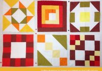 free domino quilt block pattern workshop 24 Modern Quilt Block Patterns