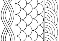 free hand quilting patterns hand quilting where do you Unique Quilting Stencil Patterns Inspirations