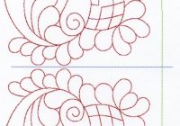 free hand quilting patterns stitches the large designs tory Elegant Quilting By Hand Patterns Gallery