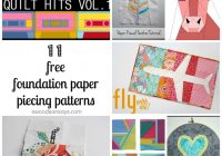free paper piecing patterns to download and sew Cozy Foundation Quilt Patterns Inspirations
