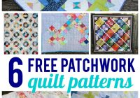 free patchwork quilt patterns on bluprint Elegant Patchwork And Quilting Patterns Gallery