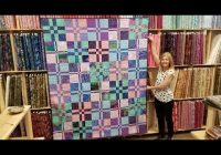 free pattern donnas modern rail fence from a jelly roll Cozy Jelly Roll Quilt Patterns Youtube Inspirations