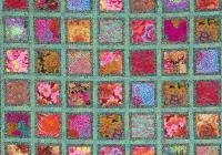 free pattern jewel frames quilt kaffe fassett and liza Interesting Picture Frame Quilt Pattern Inspirations