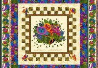 free pattern laurel burch wild ones equilter Cozy Laurel Burch Quilt Patterns Gallery