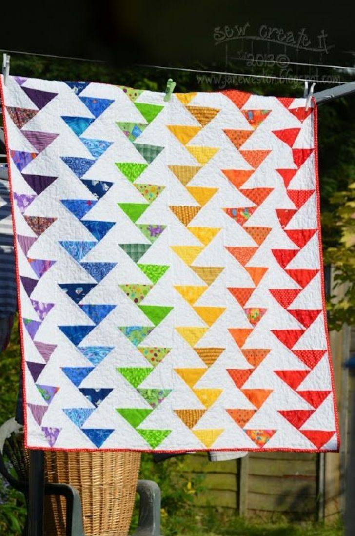 Permalink to Cool Migrating Geese Quilt Pattern