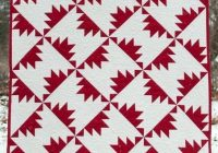 free pattern red white left right quilt lynn harris Cool Red And White Quilt Patterns