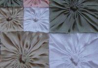 free pattern tutorial square yo yo quilted pillow case Stylish Quilted Pillow Cases Patterns