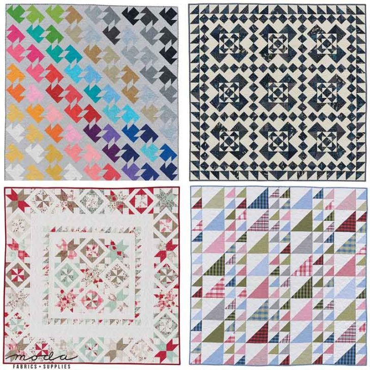 Permalink to 9   Moda Fabric Quilt Patterns Gallery