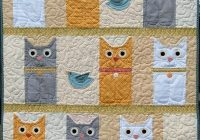 free printable cat quilt patterns quilt design creations Cool Patchwork Cat Quilt Block Patterns Gallery
