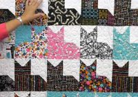 free quilt patterns free easy quilt patterns perfect for Cool Patchwork Cat Quilt Block Patterns Gallery