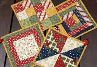 free quilted coaster patterns how to baste your quilt Interesting Quilted Coaster Patterns