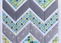 free quilting pattern friday chevron quilt pattern more Cool Chevron Quilting Pattern