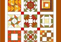 free sampler quilt workshop Cozy Sampler Quilt Block Patterns Gallery