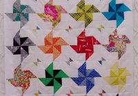 free tutorial half square triangle quilt little island Cool Quilt Patterns Using Triangles