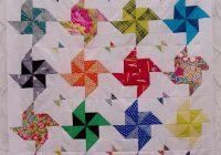 free tutorial half square triangle quilt little island Interesting Half Square Triangle Quilts Inspirations