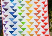 free tutorial rainbow migrating geese quilt jane Cool Migrating Geese Quilt Pattern