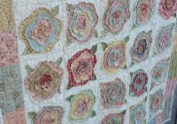 french roses quilt fabric and thread flower quilts Interesting French Rose Quilt Pattern