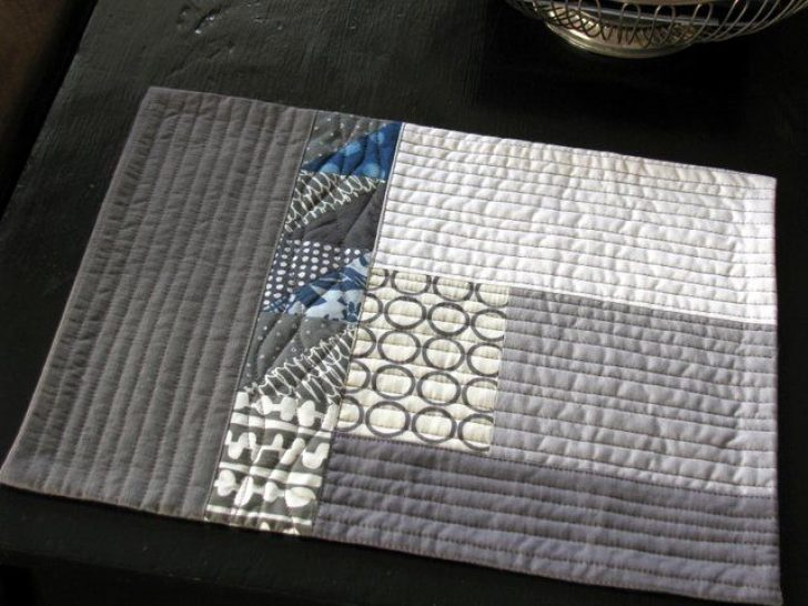 Permalink to Stylish Modern Quilted Placemat