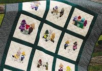 fun with sue sam quilt book Interesting Embroidery Quilt Patterns Gallery