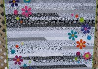 funky flower jelly roll 1600 quilts jelly roll quilt Elegant Jelly Roll Race Quilt Pattern
