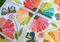 garden party quilt patterns applique quilts quilts Interesting Garden Party Quilt Pattern