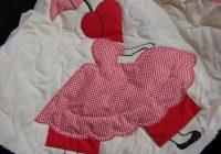 girl pattern quilt umbrella free patterns applique quilt Elegant Umbrella Girl Quilt Pattern