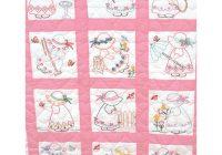 girls nursery quilt blocks Interesting Jack Dempsey Needle Art Baby Quilts