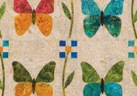 go butterfly patch quilt pattern nqc Interesting Butterfly Applique Quilt Pattern Gallery