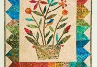 go rainbow bouquet wall hanging pattern edyta sitar Elegant Edyta Sitar Quilt Patterns Inspirations