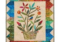 go rainbow bouquet wall hanging pattern edyta sitar Unique Quilted Wall Hangings Patterns