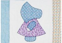 go sunbonnet sue accuquilt Unique Sunbonnet Sue Quilt Block Pattern