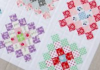 granny square quilt block tutorial block of the month 2 Elegant Granny Square Quilt Pattern
