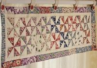 great idea for a curtain quilting room ideas quilt Stylish Quilted Curtain Patterns