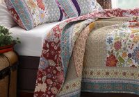 greenland home fashions geneva patchwork quilt set Interesting Vintage Quilt Sets Inspirations